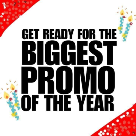 Biggest Promo of the year