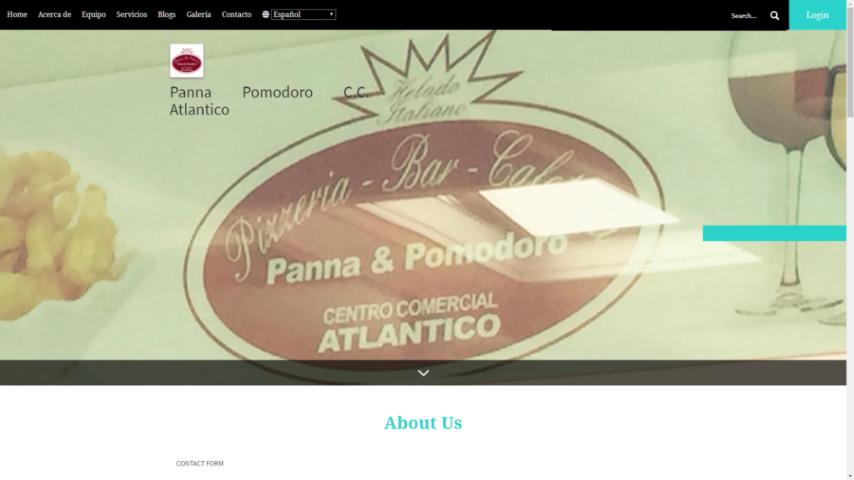 Panna Pomodoro C.C. Atlantico
